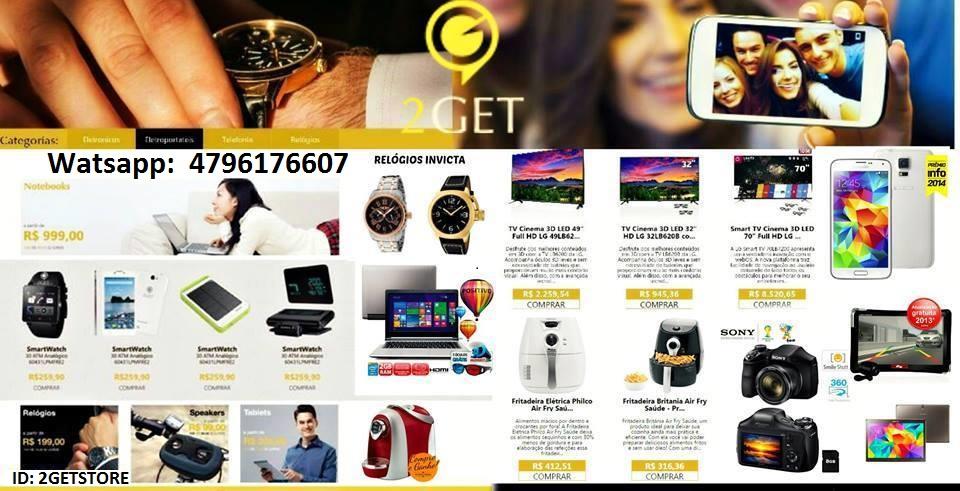 produtos novos loja virtual 2GET